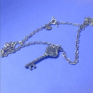Lois Hill Jewelry - Lois Hill Vintage Silver Key Necklace